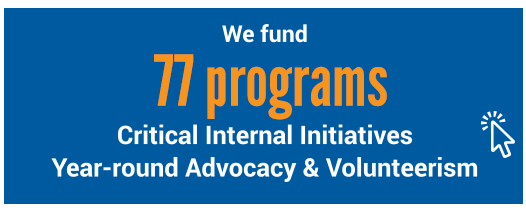 we fund 77 programs
