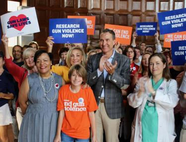 """Research Gun Violence Now Rally"" with New Orleans Mayor LaToya Cantrell"