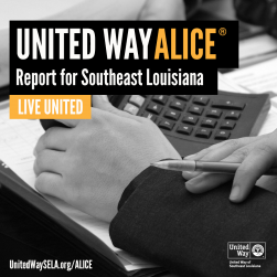 United Way of Southeast Louisiana - ALICE report